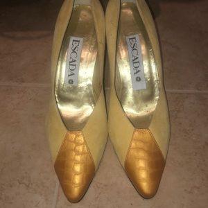 Vintage Escada Heels